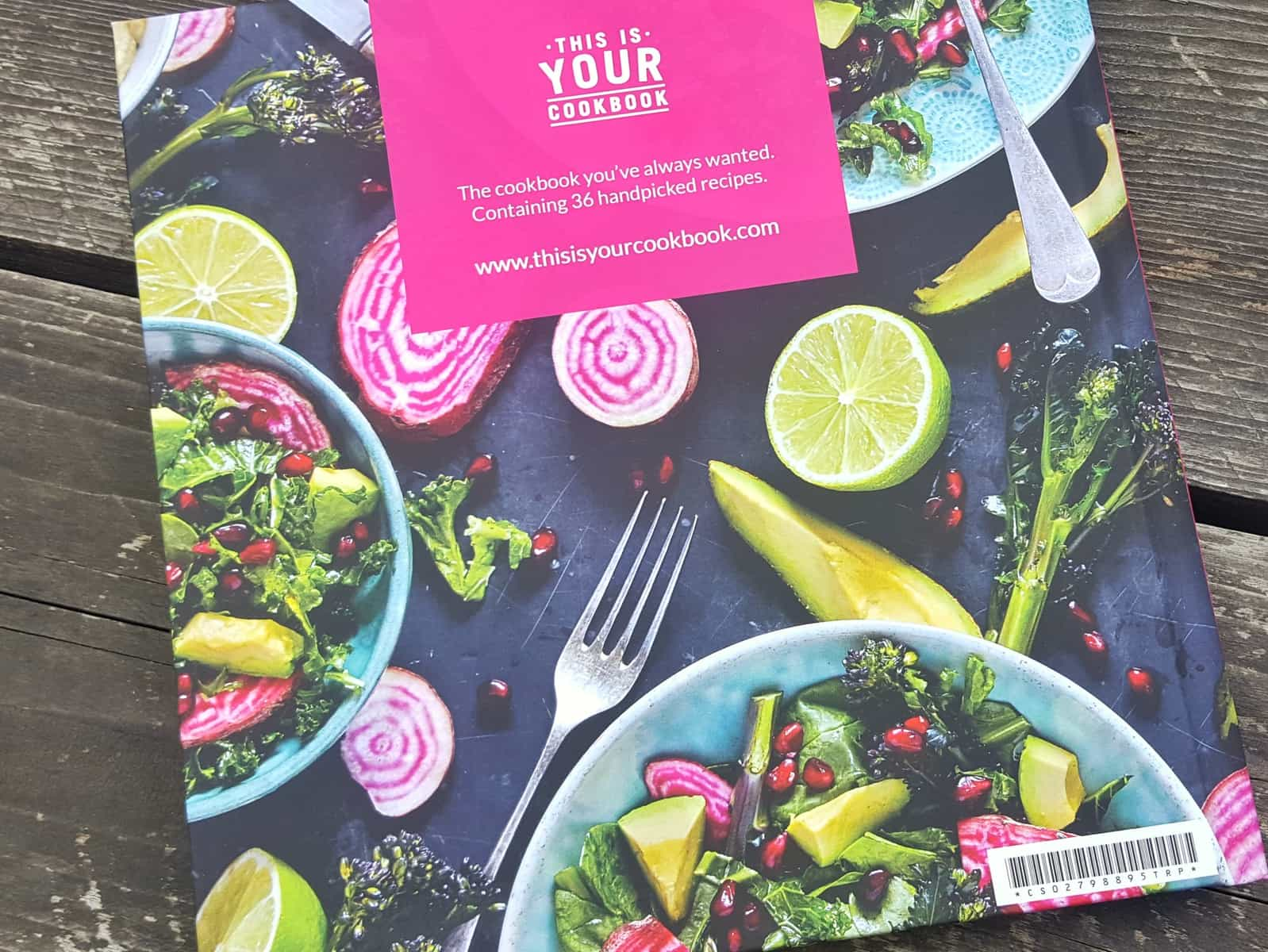 This is your cookbook - a personalised cookbook that you design yourself with recipes that you choose with the recipient in mind