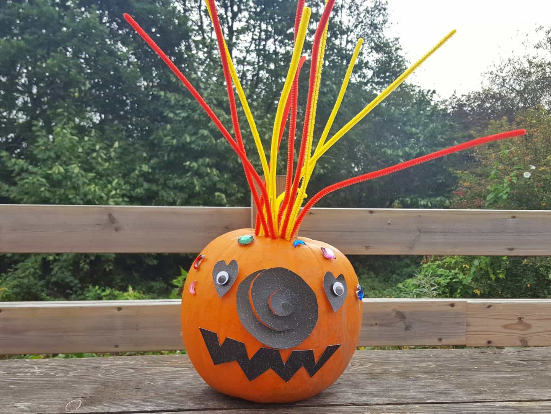 Easy no carve pumpkin