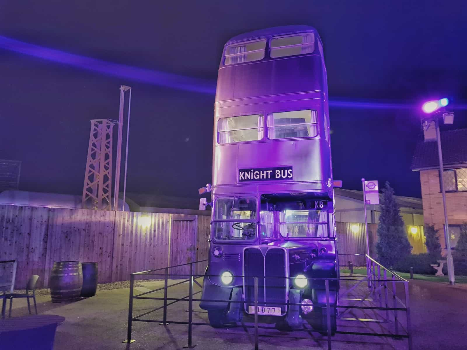 the Knight bus in the dark