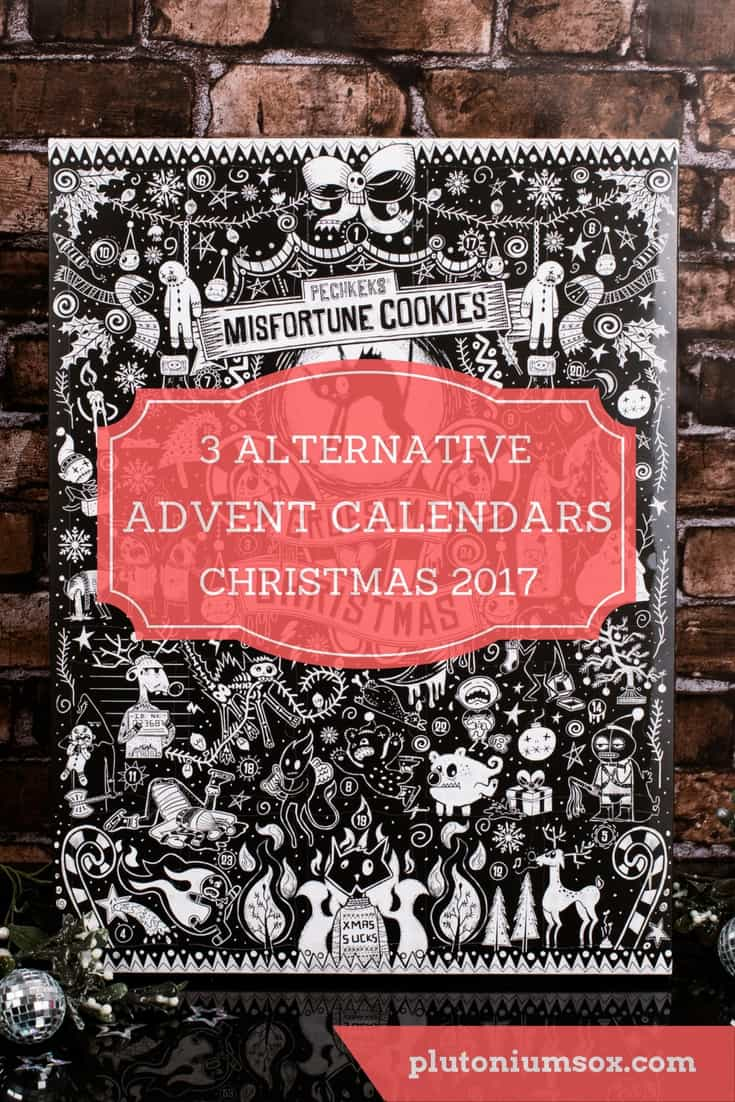 Advent calendars | If you are looking for an alternative to the usual chocolate advent calendars this Christmas, here are three suggestions. From beauty and makeup to gorgeous tea light candles and then finally a good old Christmas humbug every day of advent with the anti-advent calendar.