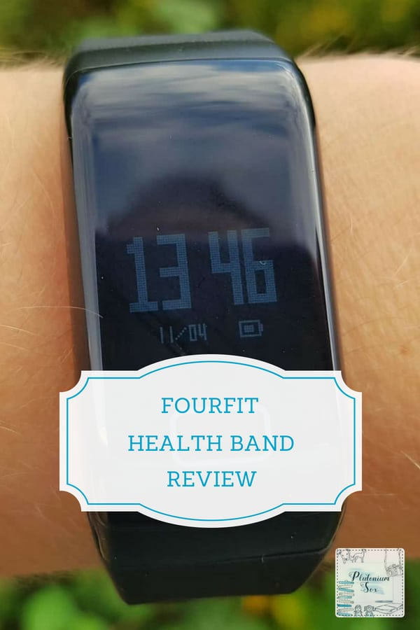 Fourfit health band fitness tracker | This is an inexpensive bracelet style fitness tracker watch that measures health with a holistic approach, monitoring sleep, blood pressure, blood oxygen and heart rate. It records your steps like a pedometer and analyses fatigue. This is a great alternative to a fitbit at a much lower price. #healthband #fitnesstracker #fitness #fitbit #fitband #healthandfitness #weightloss