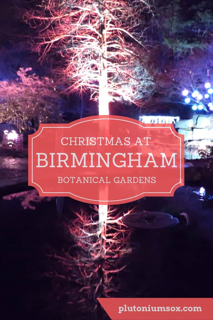 Christmas Illuminations at Birmingham Botanical Gardens | Birmingham Botanical Gardens is in the West Midlands, UK. This Christmas, it is lit up with incredible festive illuminations. It is the perfect day out for all the family, open until 1st January from 4.45 to 10pm with stalls selling mulled wine, Christmas carols and even a visit from Santa and his (illuminated) reindeer.