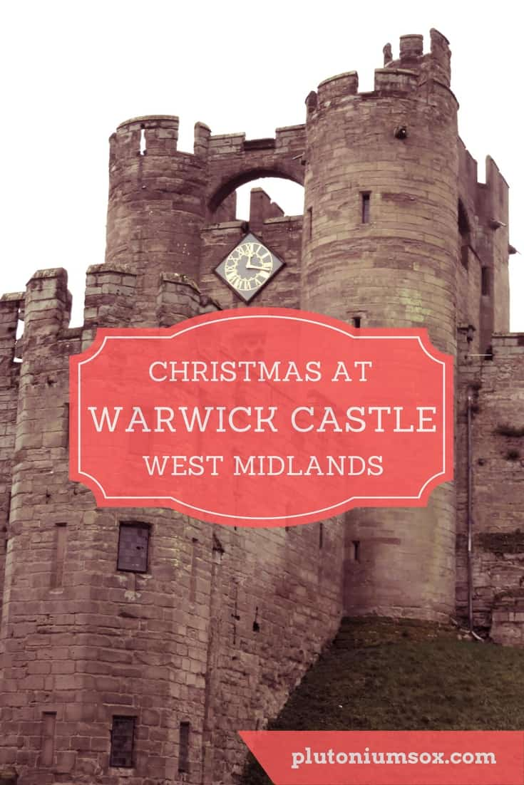 Christmas at Warwick Castle, West Midlands, UK | This is a lovely festive day out for families based in or near to the West Midlands in England. Santa reads stories to children beside a fireplace in a festively decorated library. Mrs Claus has a tale to tell too, and even a poem to read. There's an opportunity for a photo with Father Christmas at the end. #Christmas #daysout #WestMidlands #WarwickCastle