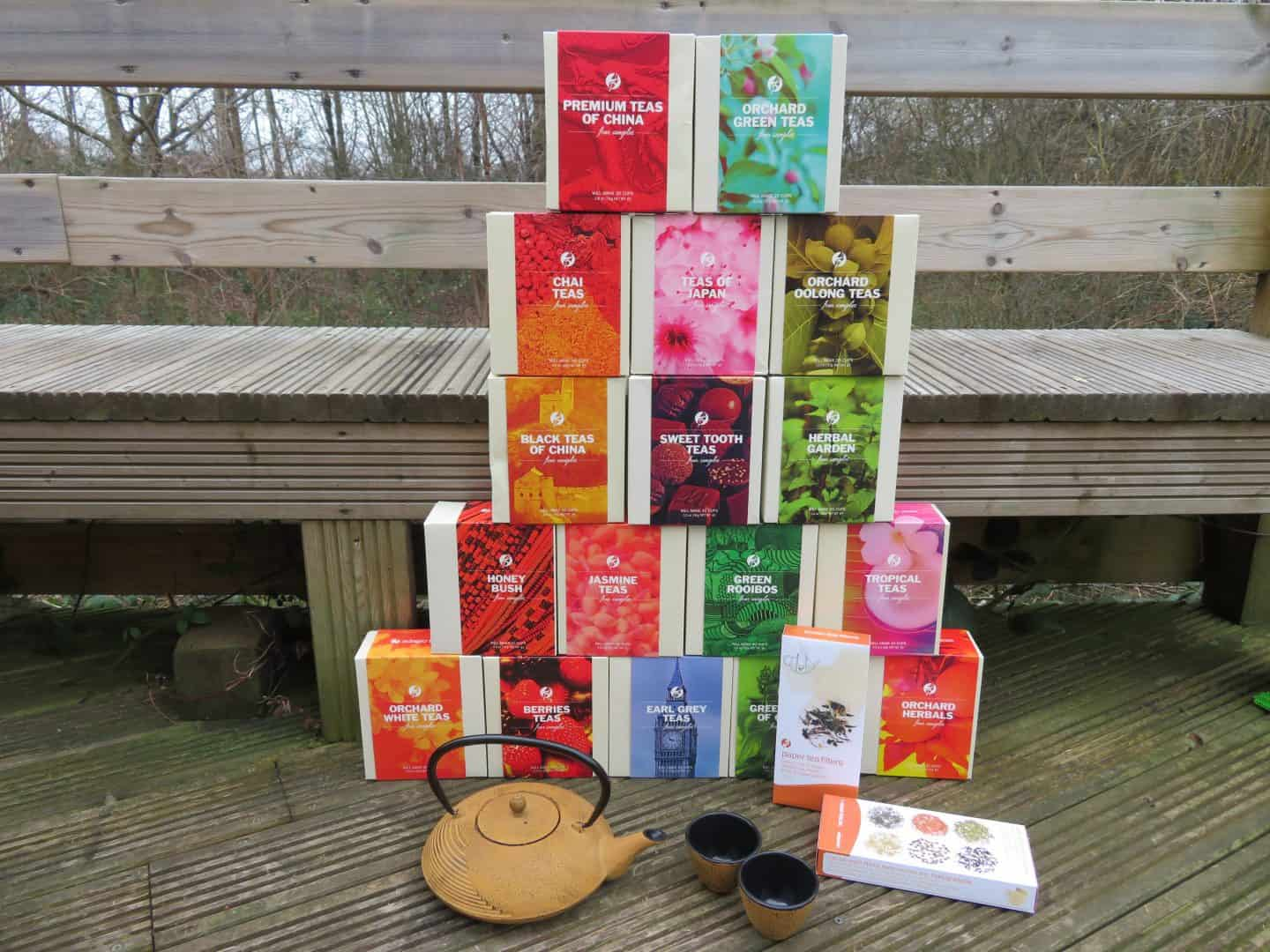 Win a teapot with cups and a vast selection of tea from Adagio