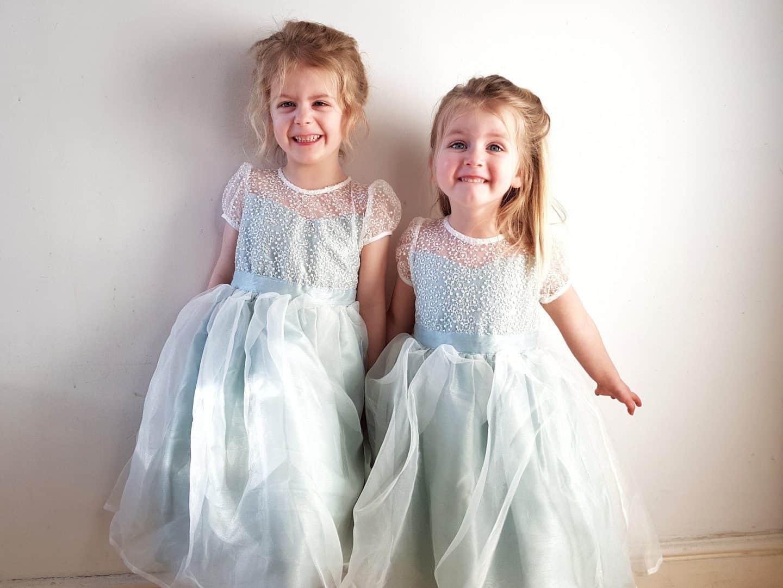 Choosing a flower girl dress