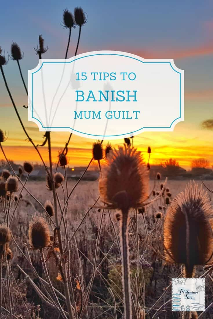 Mum guilt | Whether you know it as mum guilt, mom guilt, dad guilt or parent guilt, we've all been there. It doesn't matter what you do, you feel guilty that you're not doing something else. Working? Should be with the children. On a day out? There's so much housework to do! So, here are some tips to help you cope with that awful guilty feeling - and even banish it for good. #mumguilt #momguilt #mumproblems #wahm #parenting