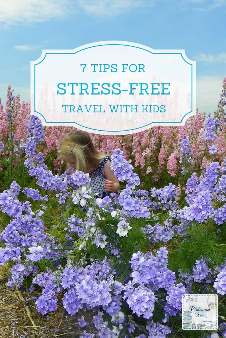 Travel with kids | If you want to travel with your children but get stressed out at the thought of it, these easy tips will make the whole process less painful. From safety tips to boredom busters, we've got you covered for fun family holidays without the stress. #familytravel #familyholidays #travel #travelwithkids