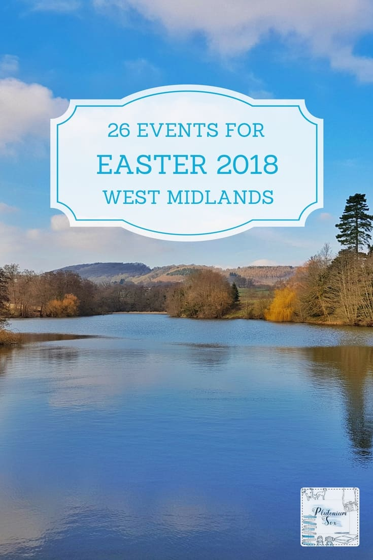 What's on at Easter West Midlands | If you're in the West Midlands during the Easter weekend or school Easter holidays, this list of 26 events will let you know what's on in the area for children and families during that time. From Easter trails to spring lambs, there's plenty of family fun to be had. #Easter2018 #Easterholidays #schoolholidays #whatson #westmidlands #daysout