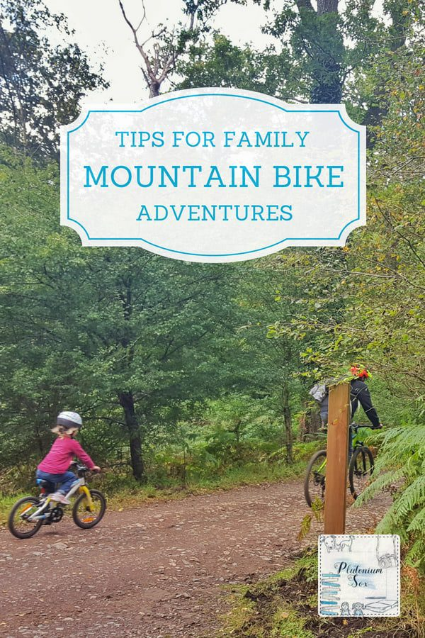 Mountain biking as a family | cycling is a great way to get out in the fresh air and get active with children of all ages. These tips will help children and parents to improve their cycling skills and be equipped to hit the bike trails. #mountainbiking #cycling #outdoorfun #familyfun #fitness