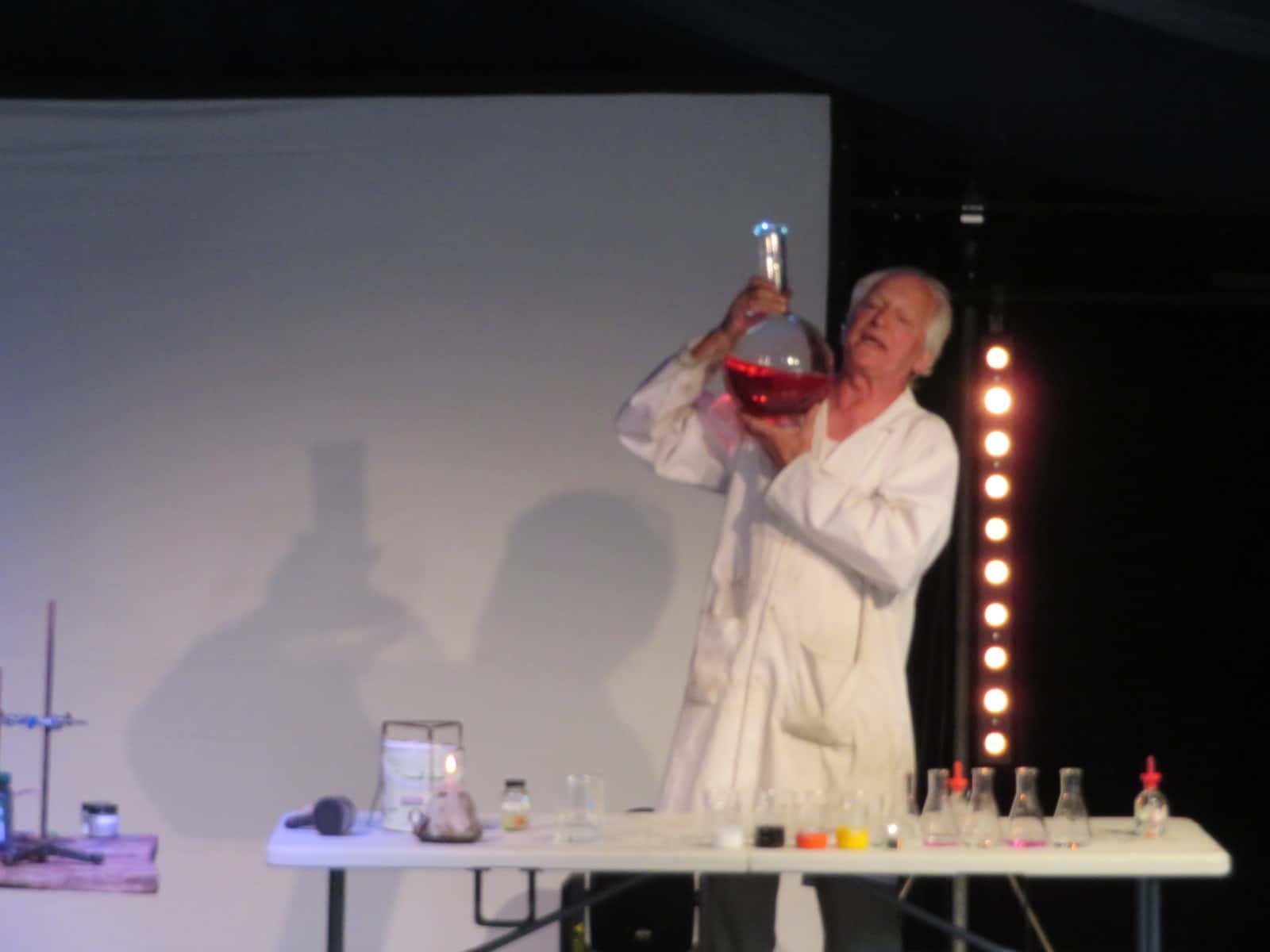 Nozstock the hidden valley festival - scientist