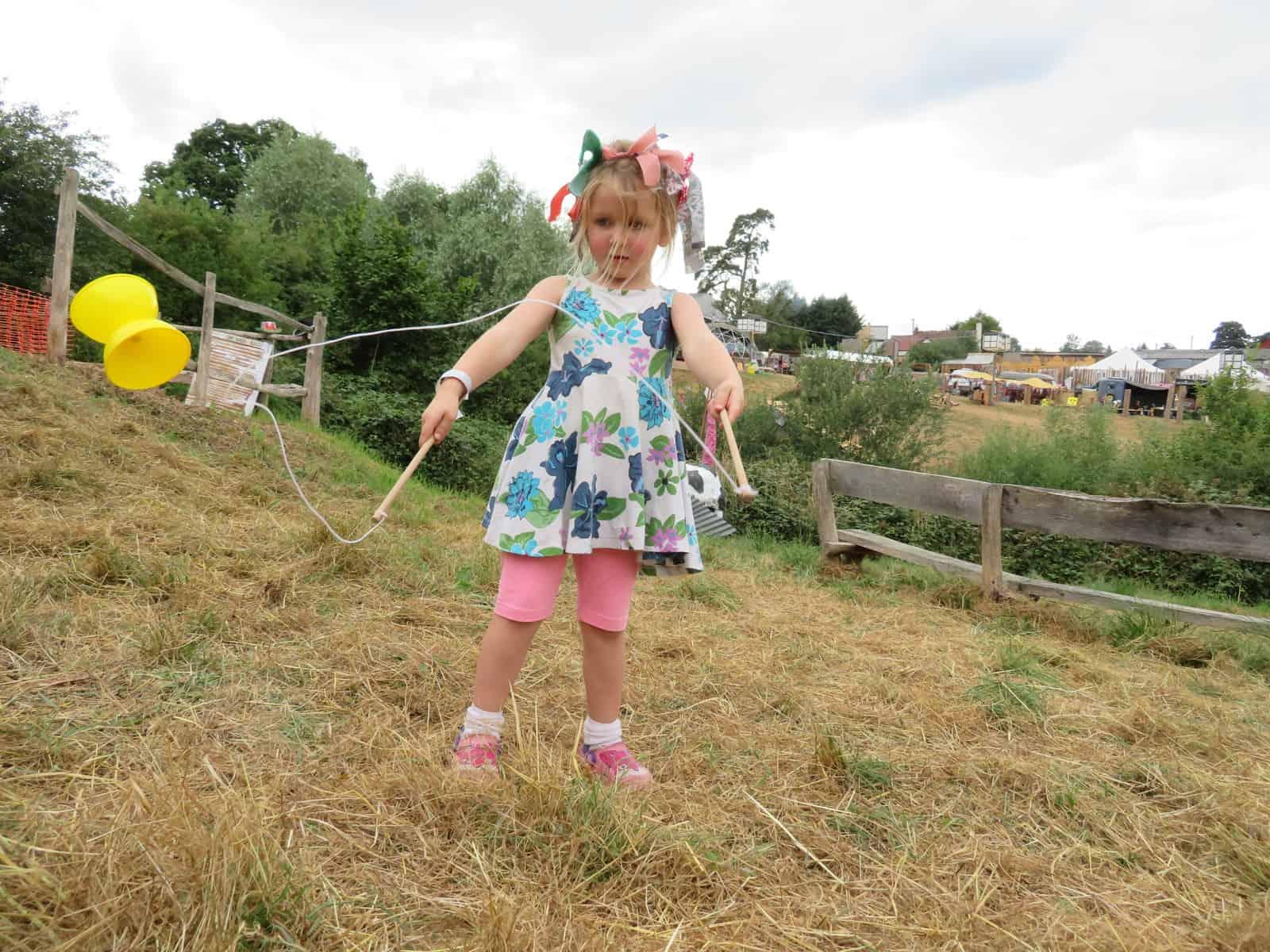 Nozstock the hidden valley festival - girl with diabolo