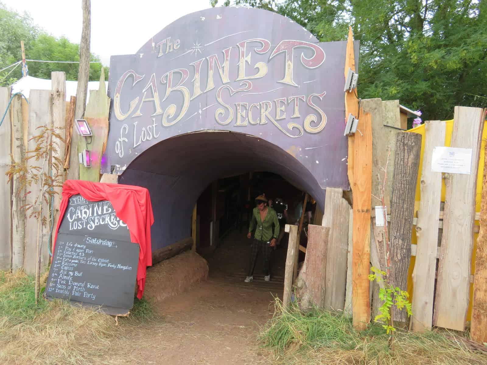 Nozstock the hidden valley festival - cabinet of secrets