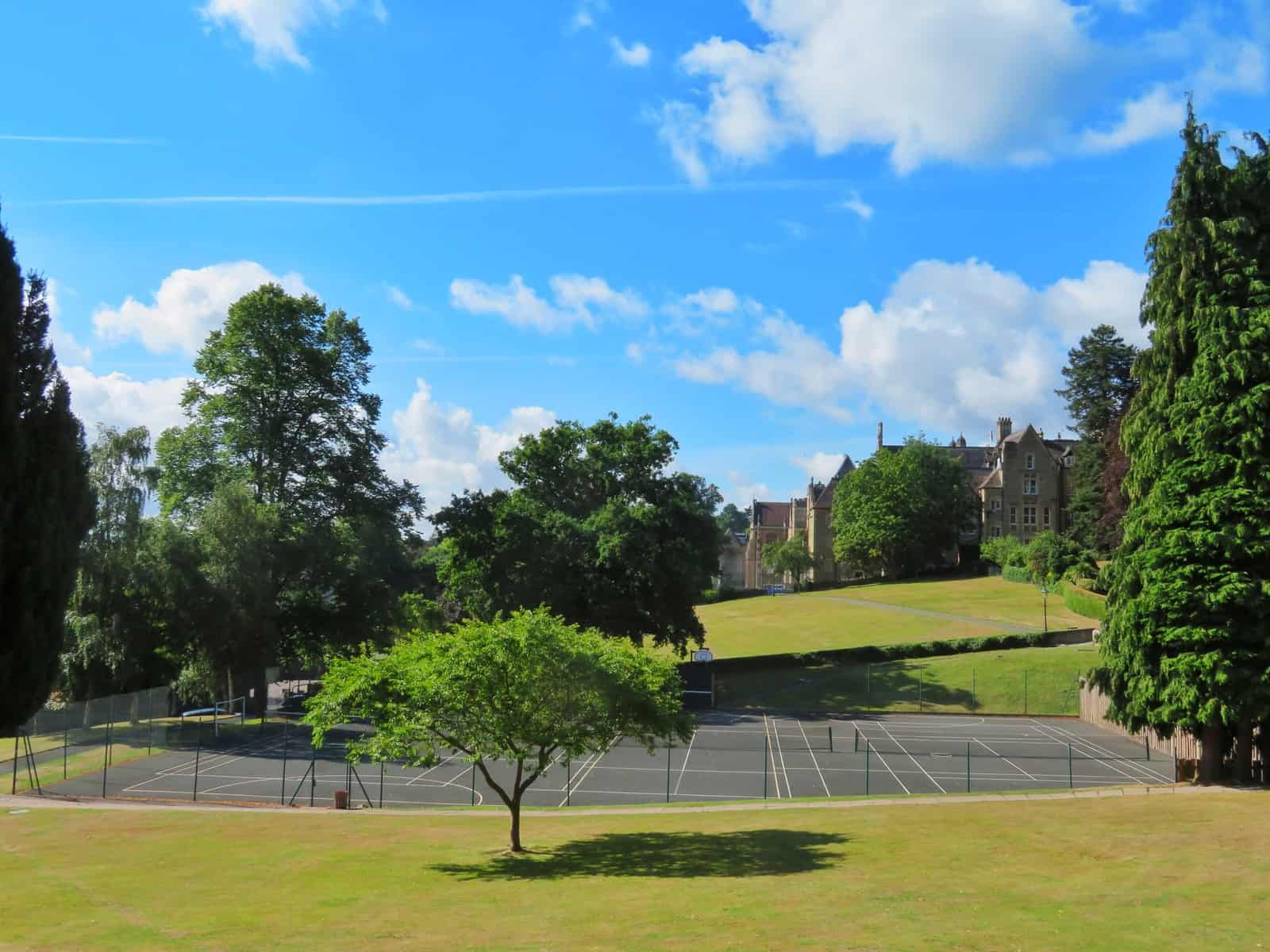 Super Camps Malvern College tennis court