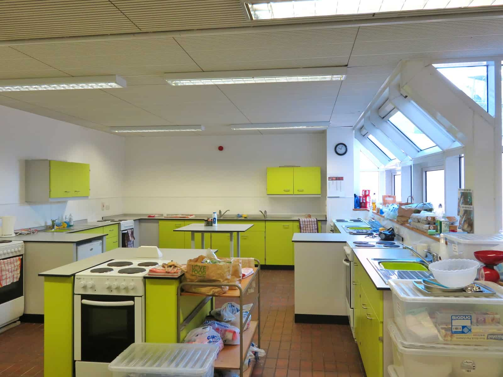 Super Camps Malvern College cookery room