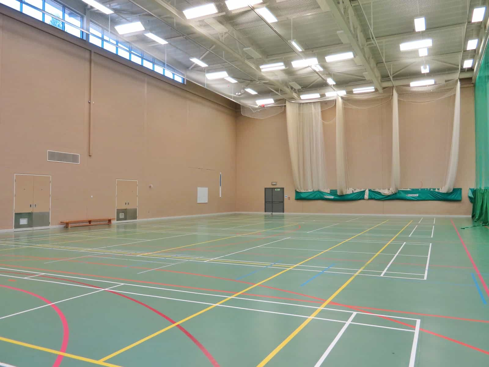 Super Camps Malvern College sports hall