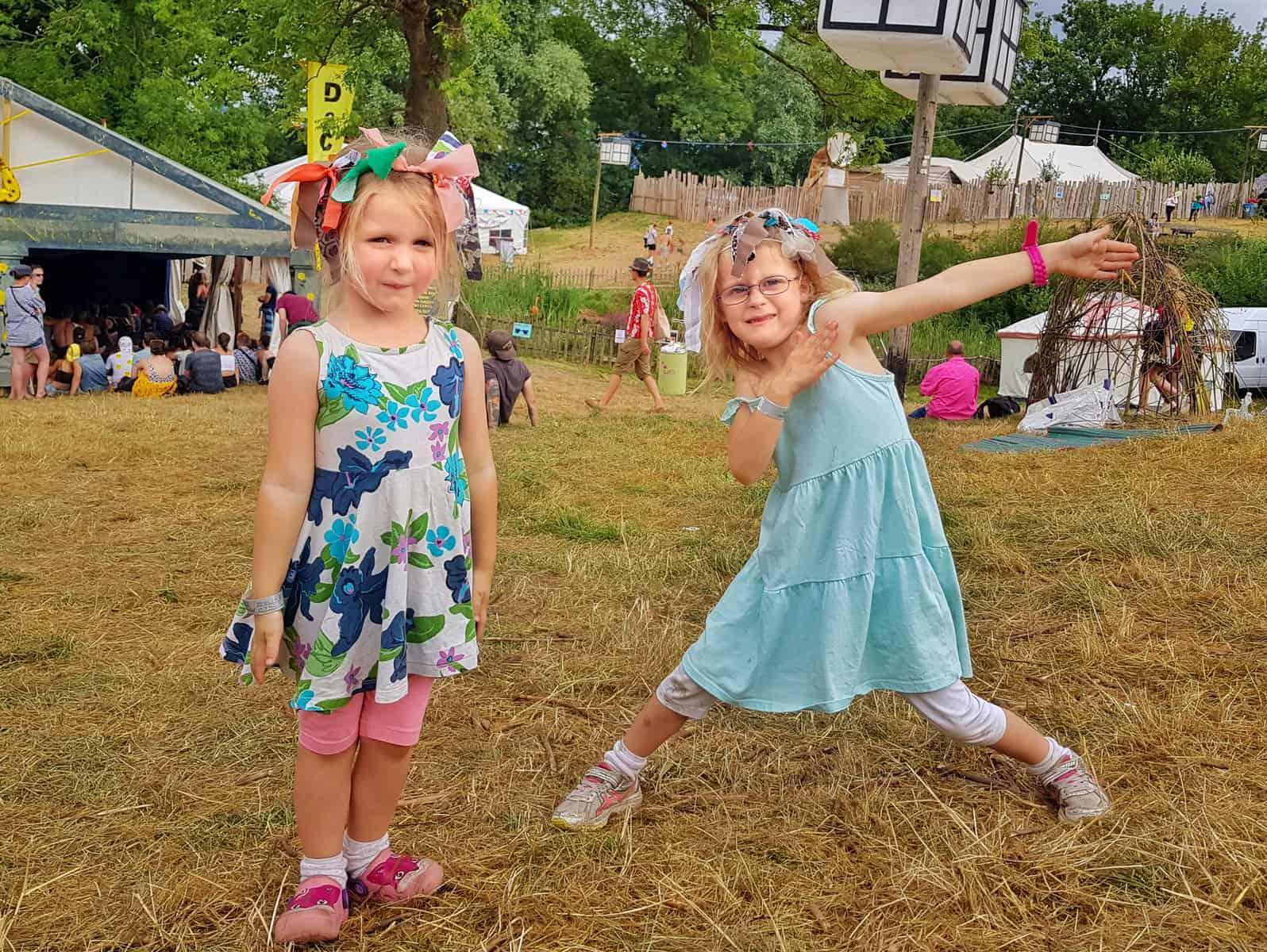 Nozstock the hidden valley festival - two girls dancing