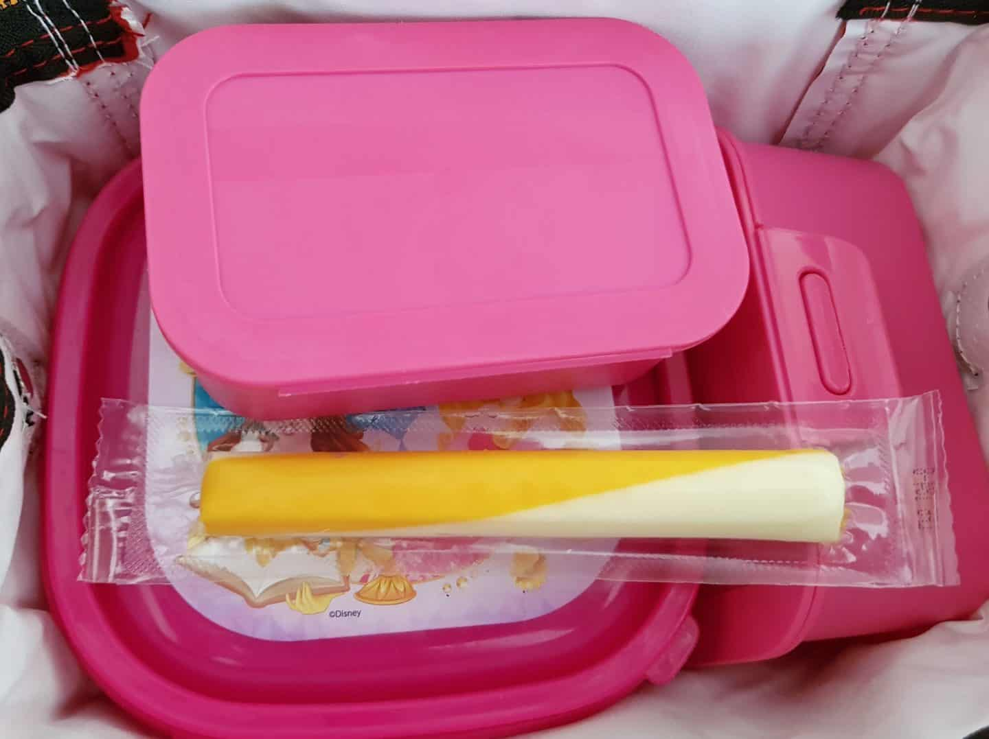 Pik-Nik cheese sticks in a lunchbox