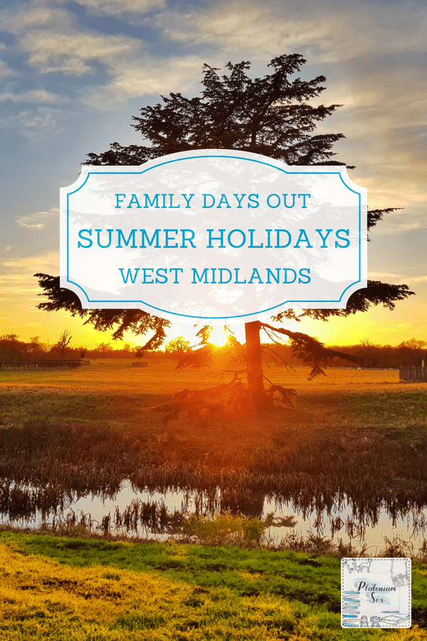 West Midlands family days out Summer Holidays 2019 | If you live in the West Midlands or surrounding area, these family days out will keep children and parents alike entertained during the 2019 school Summer holidays. #familyfun #WestMidlands #familydaysout #uktravel #summerholidays #schoolholidays
