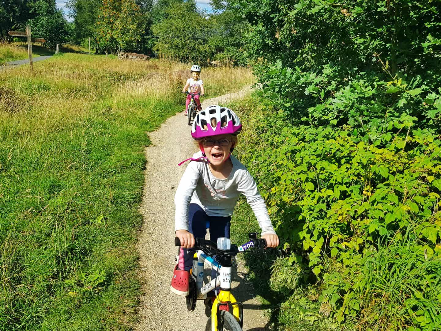 Cycling at Sutton Bank National Park Centre