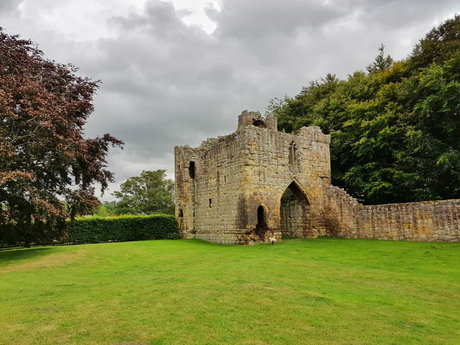 Ford and Etal Castle gatehouse