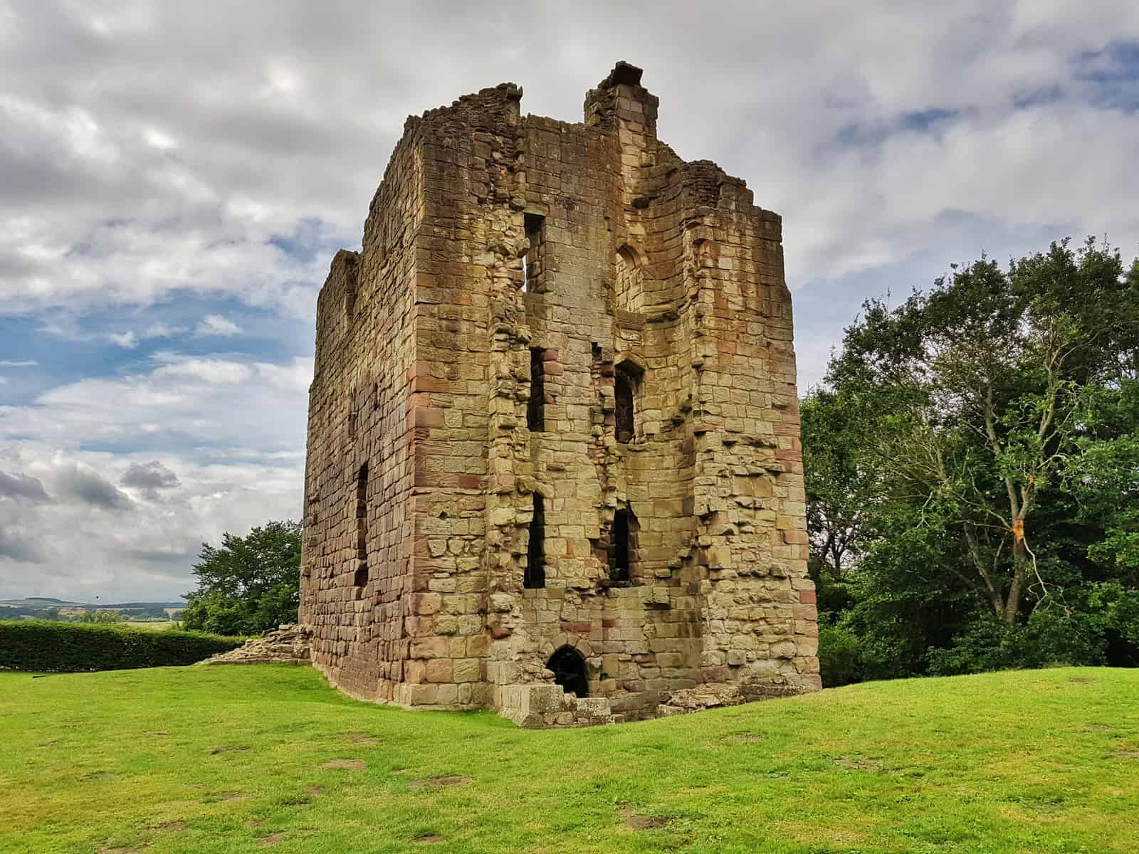 Ford and Etal Castle tower
