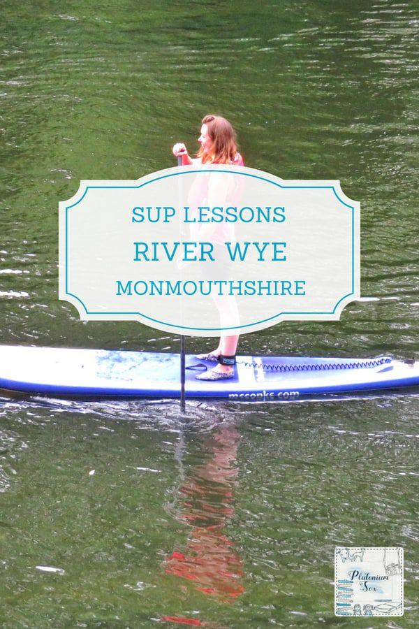 SUP stand up paddle boarding in Monmouthshire | Why Monmouthshire in Wales is the perfect place to learn to use a stand up paddle board. Ideal for outdoor adventurers, children over eight, families, groups and stag and hen dos. #visitwales #sup #standuppaddleboard #paddleboard #outdoorfun