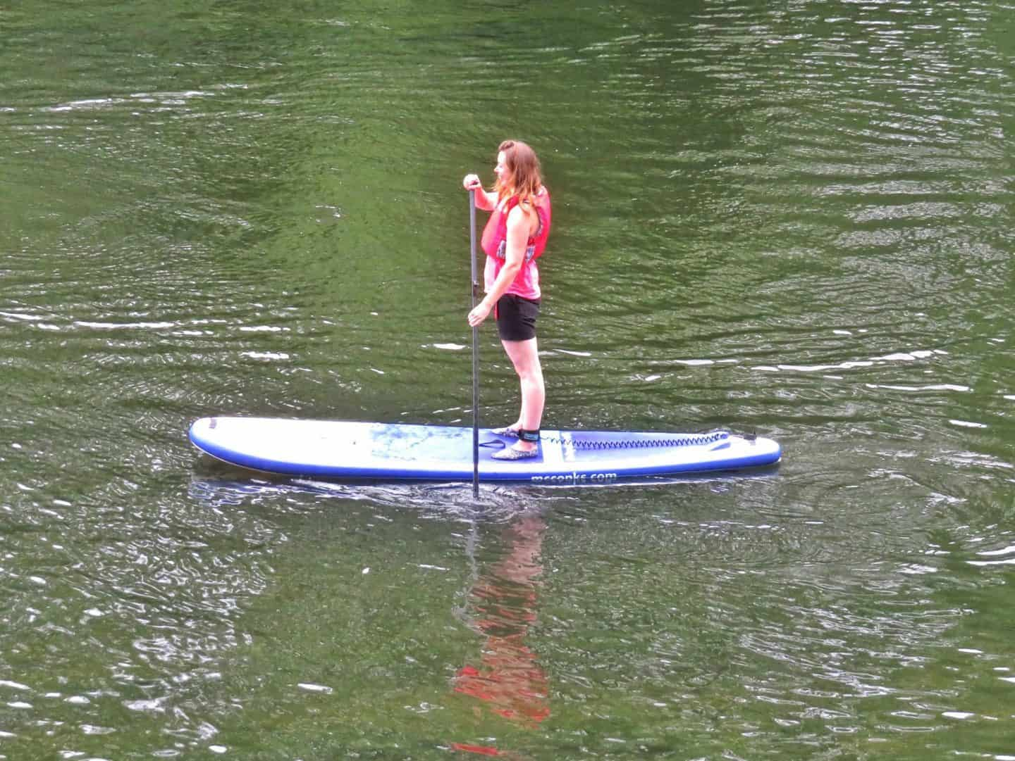 An Inspire2Adventure SUP lesson – when advertising backfires