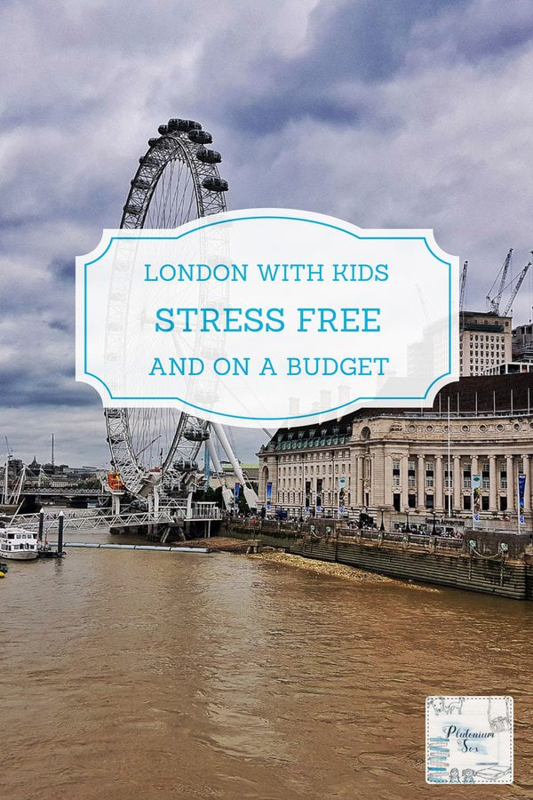 London with kids | If the thought of taking children to London brings on a stress reaction, find out how we made it less stressful - and cheaper too! Budget ideas for a family trip to London. #UKtravel #familytravel #London #CityBreak #Travelwithkids