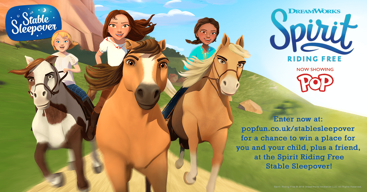 Win an incredible prize with Spirit Riding Free