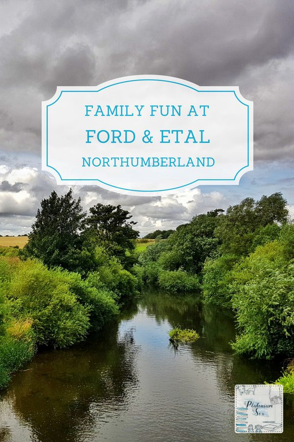 Ford and Etal, Northumberland | The villages of Ford and Etal are the perfect place for a day out for adults and children alike. Families can explore Etal Castle and take a trip on the miniature steam railway. Cycle around the area, visit standing stones or take a carriage ride at the amazing Hay Farm Heavy Horse Centre. Many of the attractions are dog friendly too. #Northumberland #UK #UKTravel #familytravel #daysoutUK
