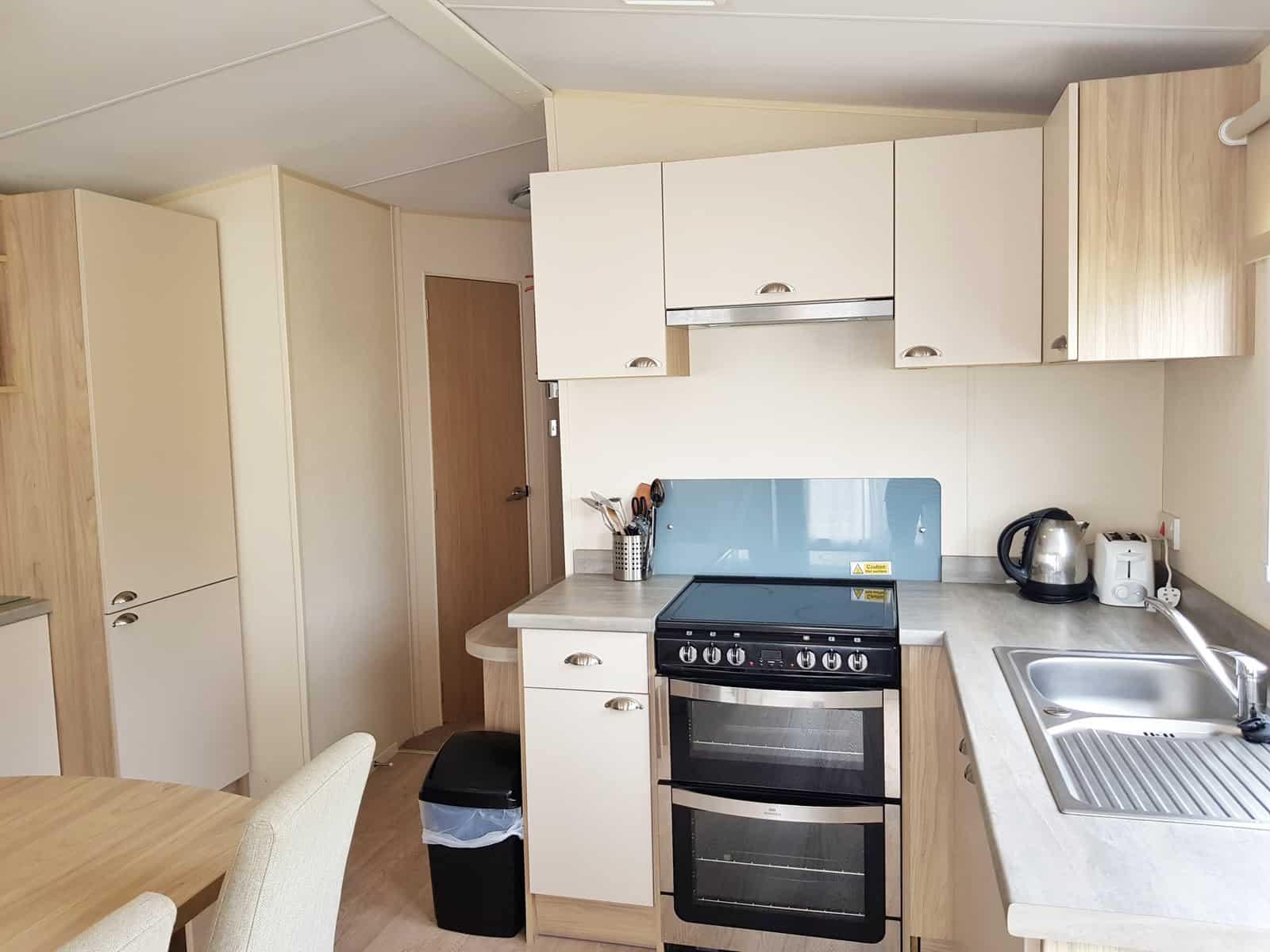 Hoburne Blue Anchor kitchen