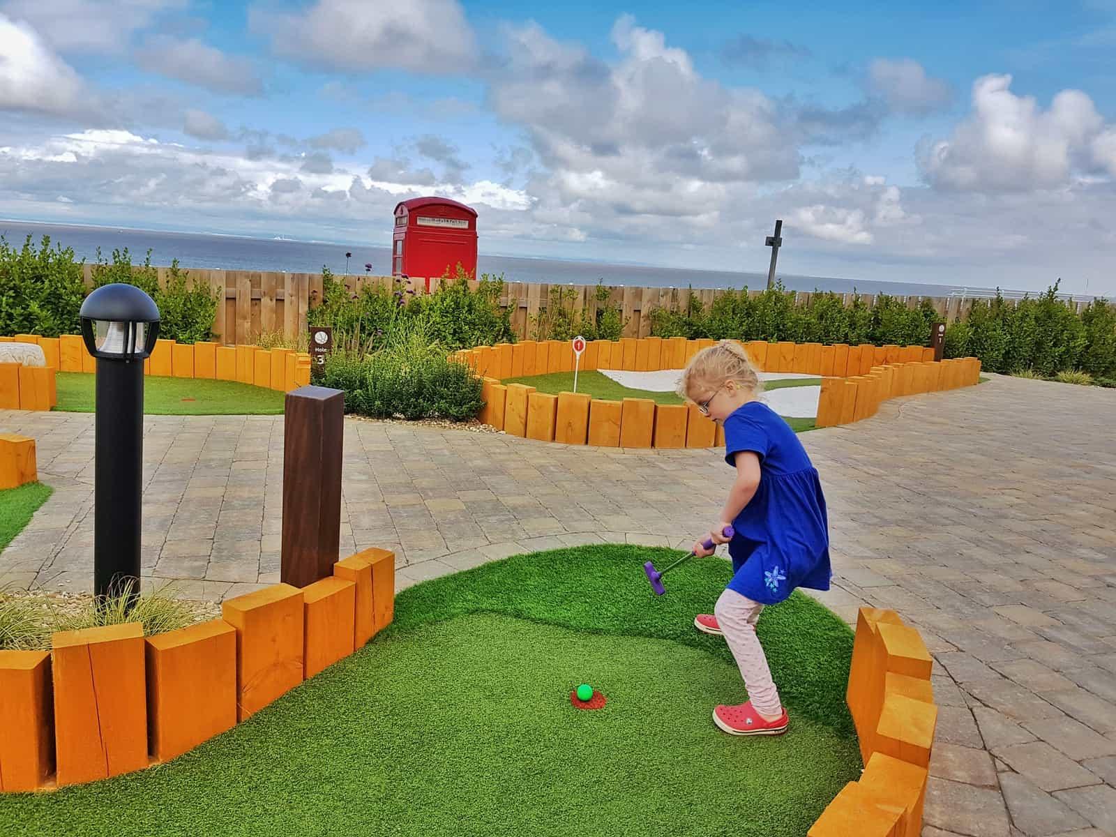 Hoburne Blue Anchor crazy golf