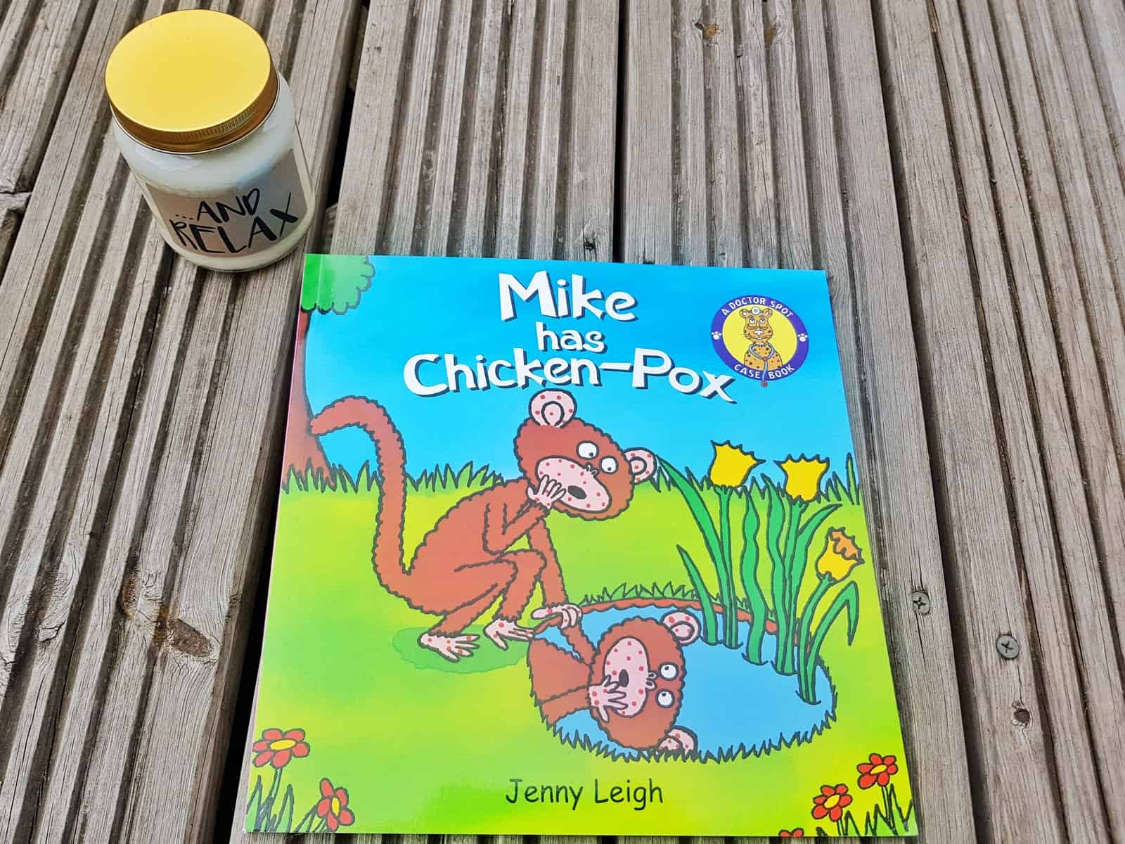 mike has chickenpox book