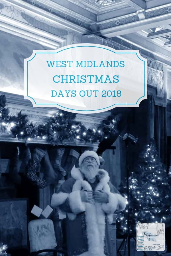 The best family Christmas days out in the West Midlands. Details of what's on at each attraction and when, with links to their websites and independent reviews. Festive attractions and activities for children of all ages as well as a few for adults. #WestMidlands #Christmas #DaysOut #WhatsOn