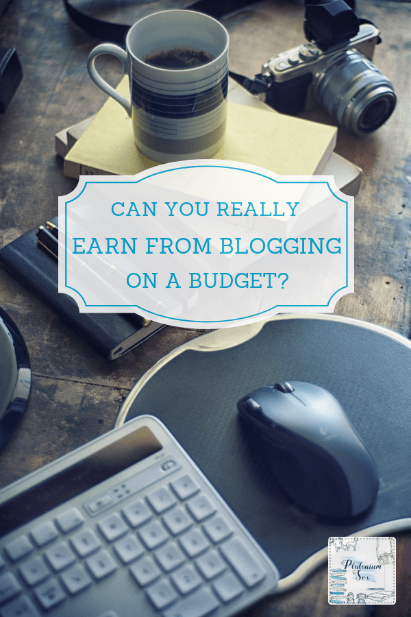 Blogging on a budget | Can you make money blogging without spending a fortune? Do you really need the fancy equipment for your blog like a gopro, macbook and DSLR camera? I don't think so. Find out the two things you need to start a blog and a few other blogging tips for beginners. Spoiler alert: They're free. #blogging #budget #frugal #bloggingtips