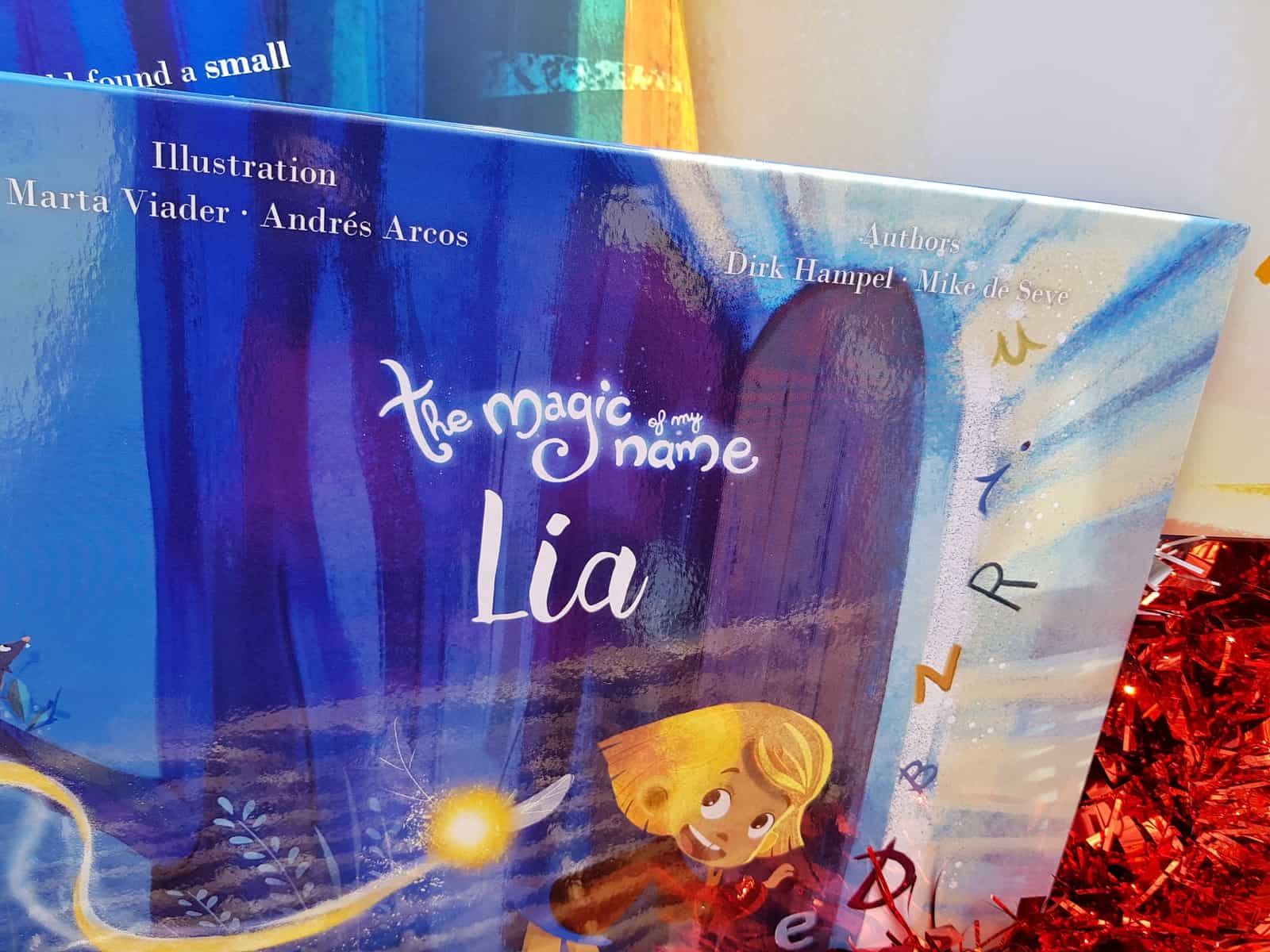 Christmas gift guide for primary school children magic of my name books