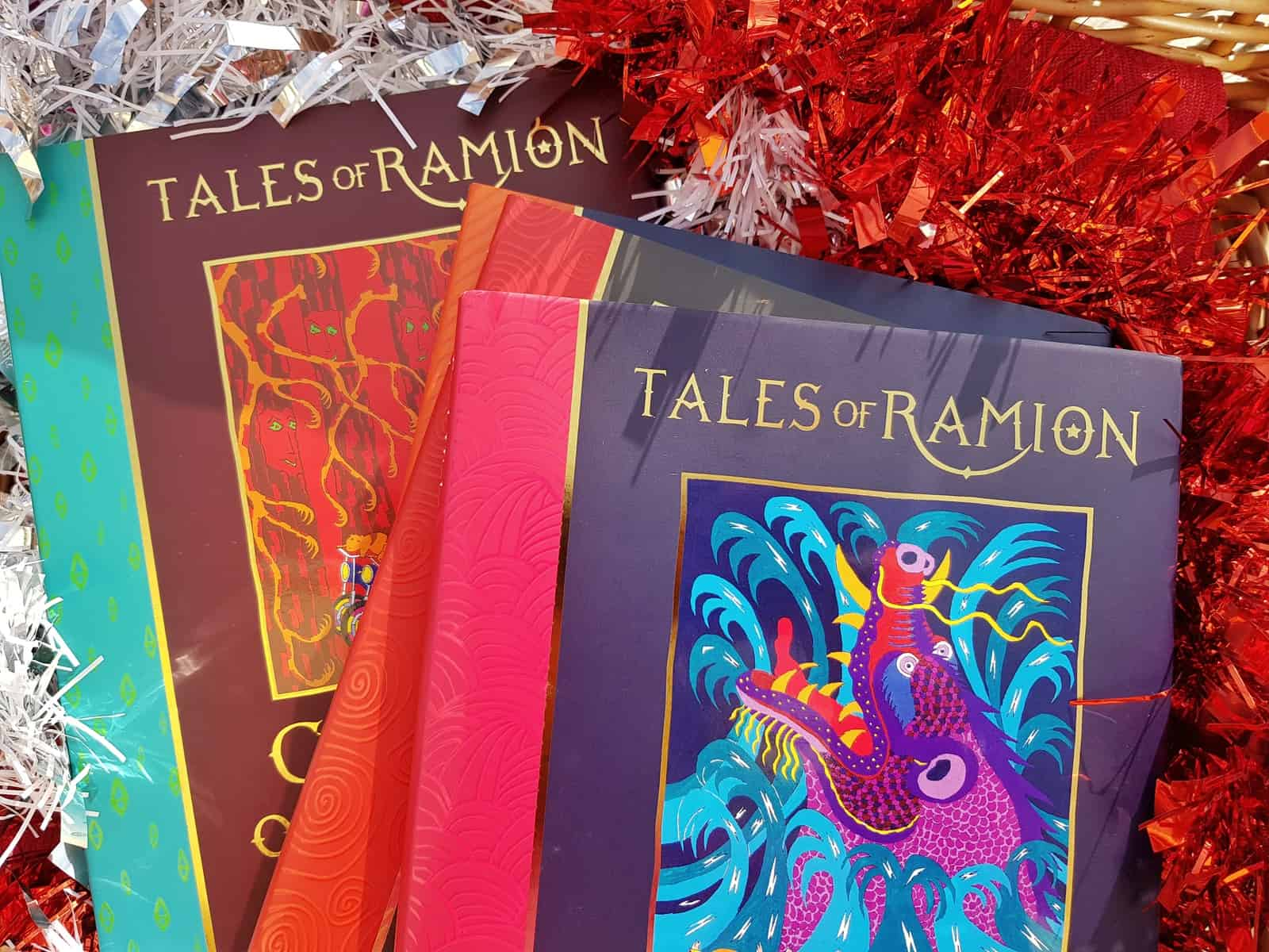 Christmas gift guide for primary school children Tales of Ramion books