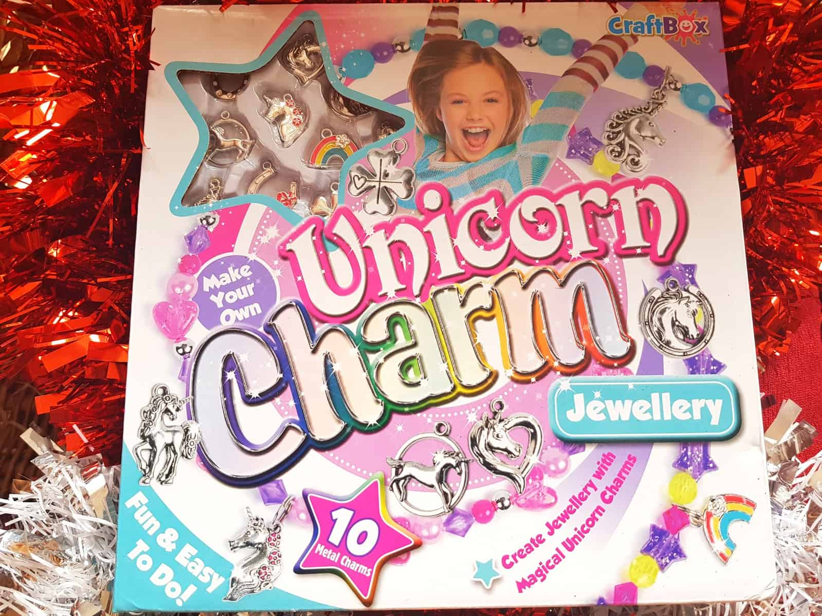 Christmas gift guide for primary school children unicorn charm jewellery set