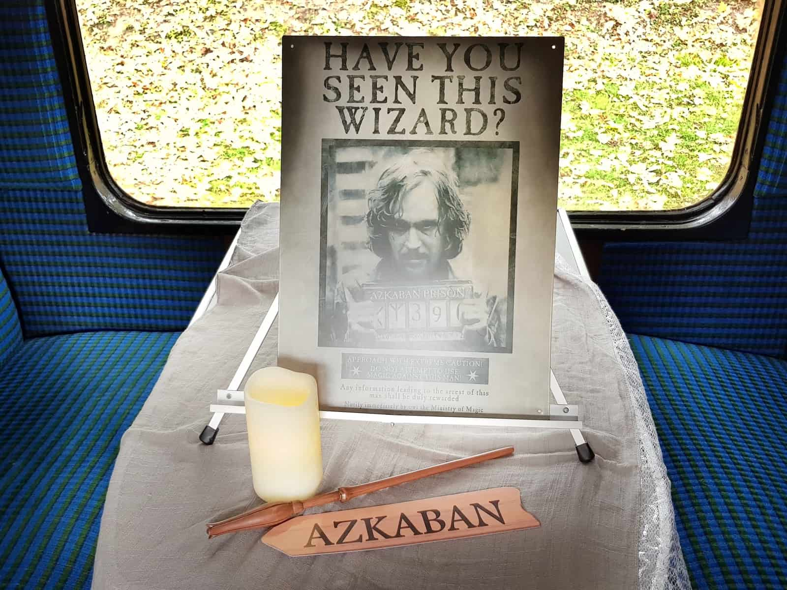 Watercress Line Azkaban wanted poster