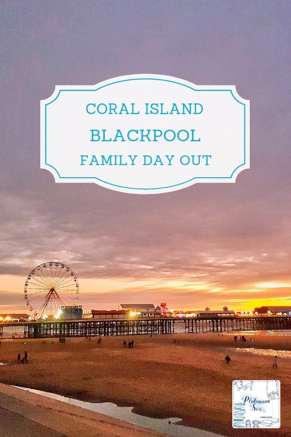 Coral Island Blackpool UK family day out | If you're looking for an indoor attraction for families with children or for adults who like gaming, Coral Island is ideal. It features rides, arcade games, 2p machines, grabbers and an over 18 gambling area. #daysout #familytravel #uktravel #blackpool #familyfun