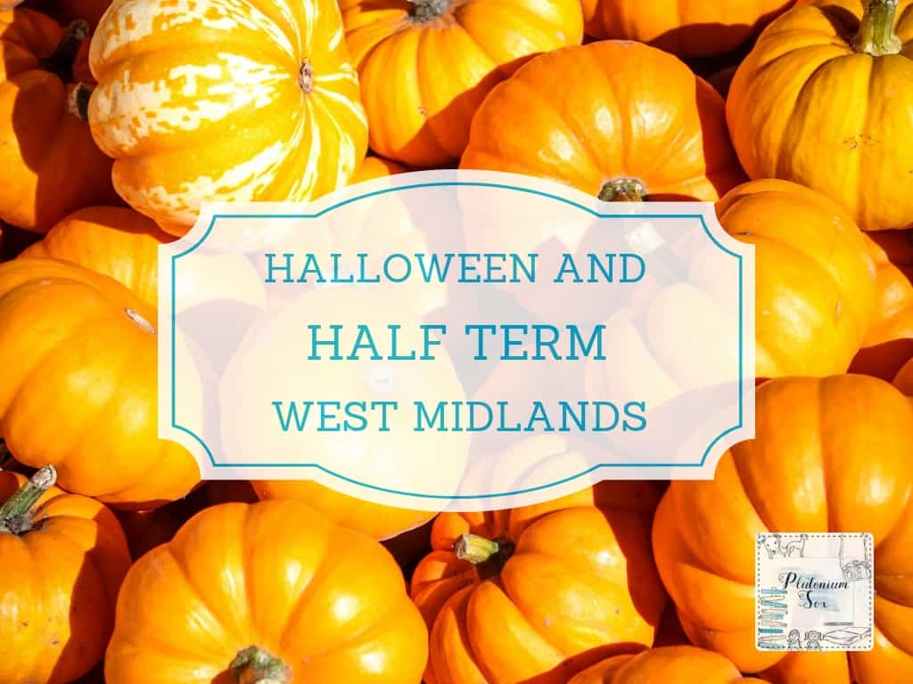 What's on in the West Midlands for families, adults and children of all ages this half term and Halloween