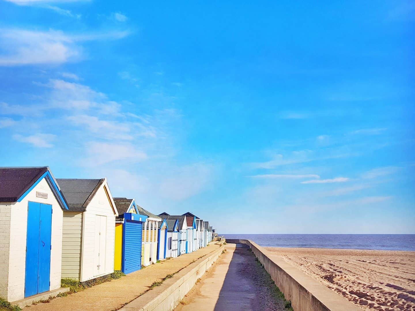Lincolnshire Wolds North Sea Observatory beach huts