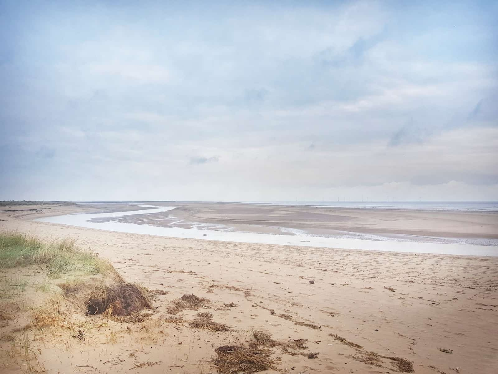 Lincolnshire Wolds Gibraltar Point beach