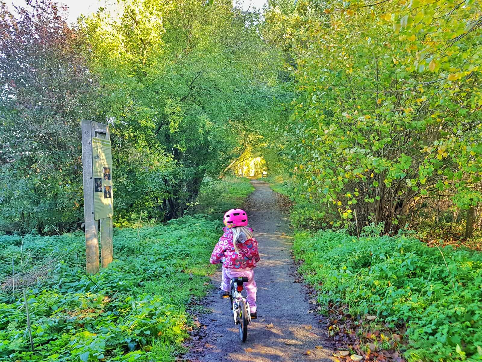 Lincolnshire Wolds Woodall Spa trail cycling