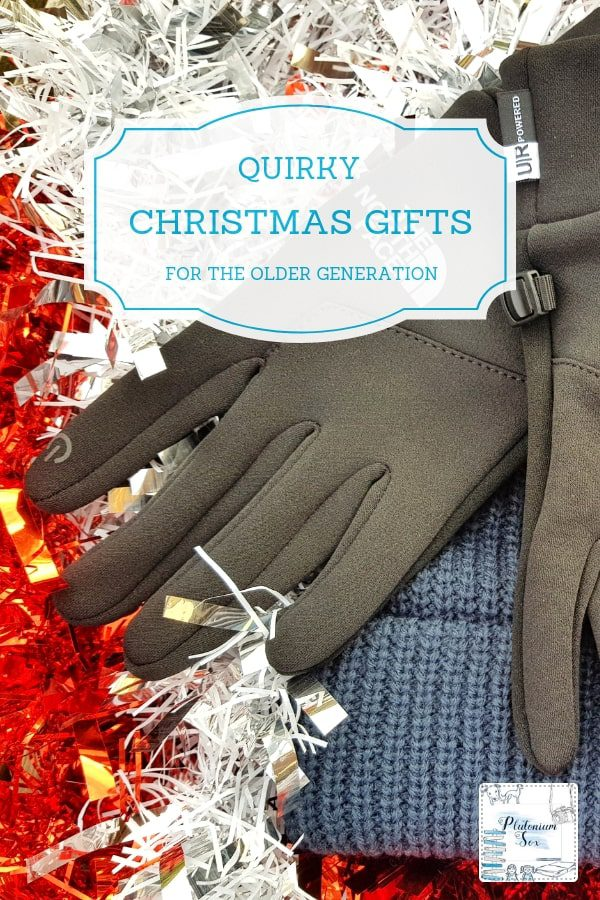 Christmas gift ideas | If you have an older friend or relative to buy for this Christmas, here are some unusual gift ideas. Whether you are looking for something personalised, a stocking filler or a lovely keepsake, you'll find some inspiration here. #Christmas #gifts #giftguide #christmasgiftguide #grandparents