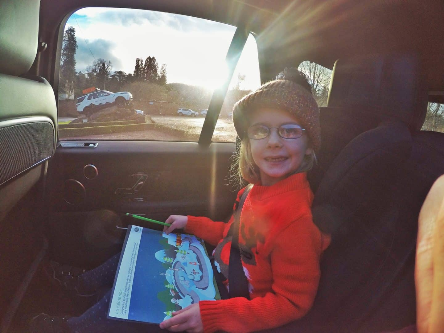 Review of Santa and Drive at Eastnor Land Rover