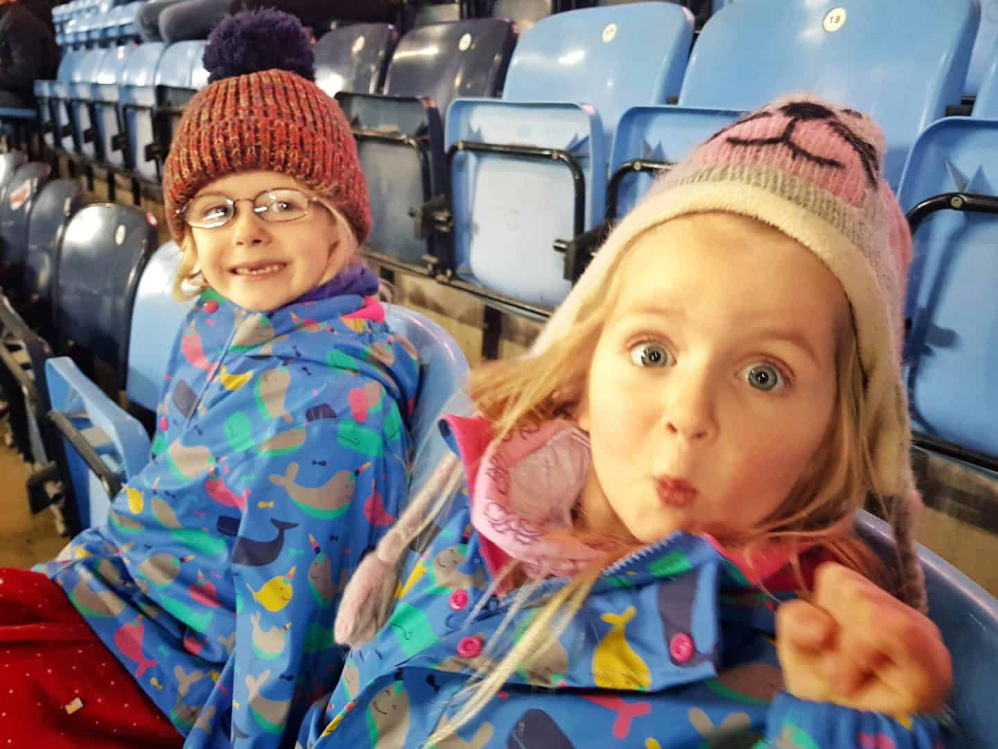 A family day out at the rugby watching Wasps at Ricoh Arena