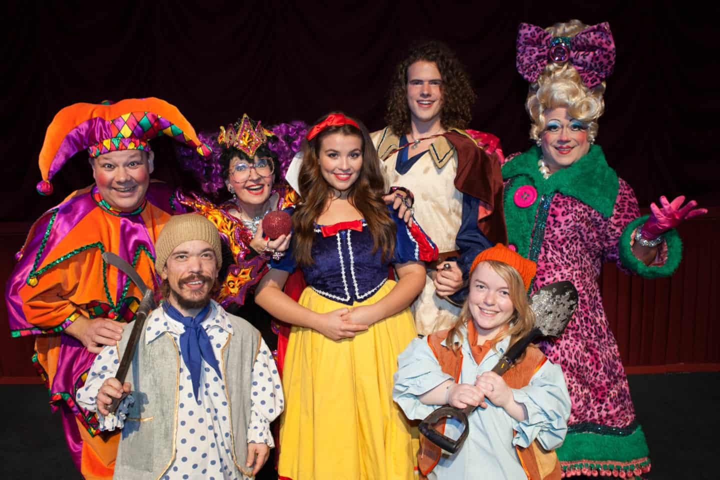 Snow White and the Seven Dwarfs at Malvern Theatres