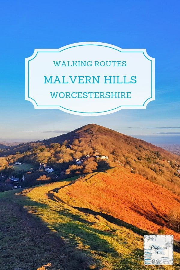 Malvern Hills Walks | The Malvern Hills span the borders of Herefordshire and Worcestershire in the West Midlands. The length of the hills is approximately ten miles and these walks vary in time and difficulty from an invigorating half hour hike to a day-long pub crawl along the Malverns. #MalvernHills #Worcestershire #walking #hiking #walks #MalvernHillsWalks