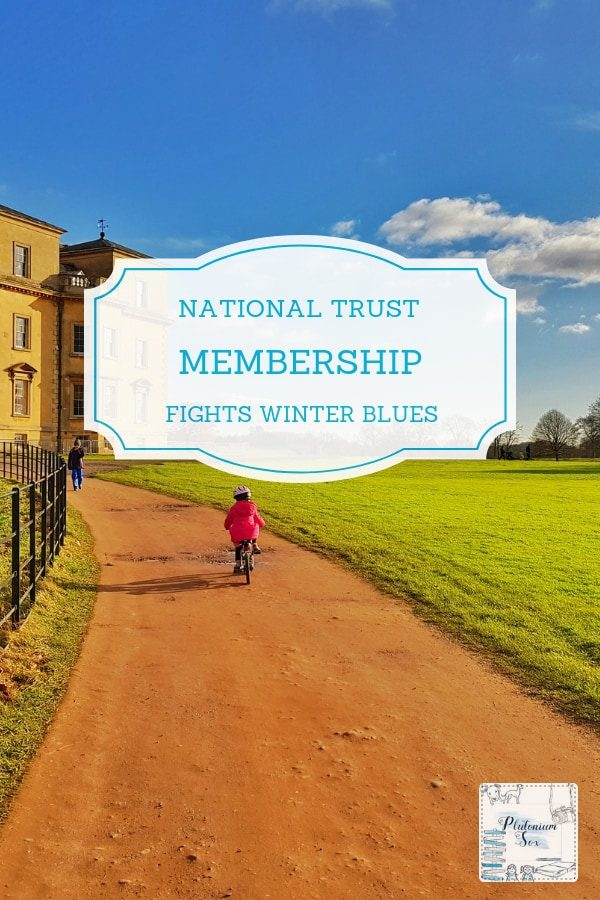 National Trust membership to banish winter blues | Spending time outdoors is a great way to lift your mood. In the UK, the National Trust is a much loved institution. It's also the cheat's way to get children and families outdoors. Because all the larger properties have fabulous, warm cafes where you can get out of the cold and enjoy a hot drink and some cake. #nationaltrust #outdoorfun #outdoorkids #getoutdoors #outdoorfamilies #winterfun
